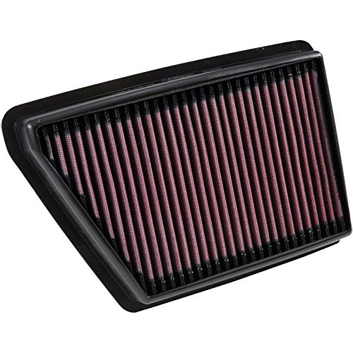 K&N engine air filter, washable and reusable:  2016-2019 Subaru H4 1.6/2.0/2.4 L (Ascent, Crosstrek, Forester, Impreza, XV) 33-5064