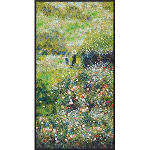 Robert Kaufman Renoir Collection Garden Woman with a Parasol in the Garden Panel -