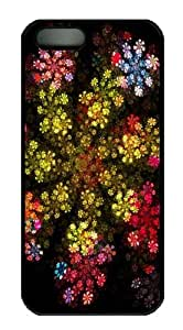 Awesome Flowers Custom iPhone 5s/5 Case Cover Polycarbonate Black by icecream design