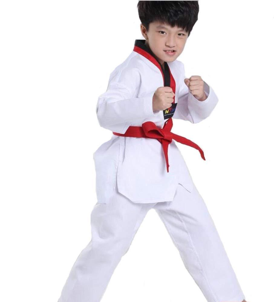 dududrz Dobok Taekwondo Ninos V Cuello Taekwondo Traje ...