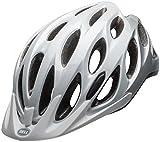 Bell Traverse Bike Helmet – White/Silver 56-63cm