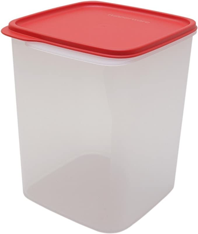 Buy Tupperware Square Smart Saver Plastic Container, 3.9 litres, Multicolour Online at Low Prices in India - Amazon.in