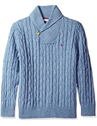 Tommy Hilfiger Men's Big and Tall the Intercontinental Shawl Sweater