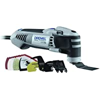 Dremel Multi-Max Variable Speed Corded Oscillating Tool Kit with 28 Accessories and Storage Bag