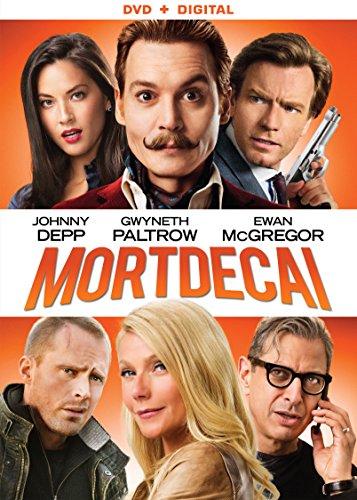 Mortdecai [DVD + Digital]