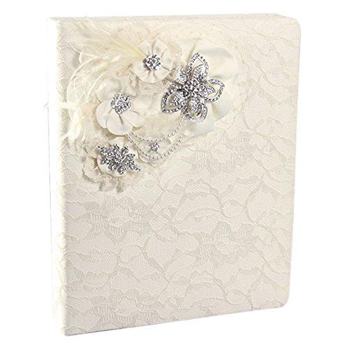 Ivy Lane Design Genevieve Memory Book, Ivory by Ivy Lane Design