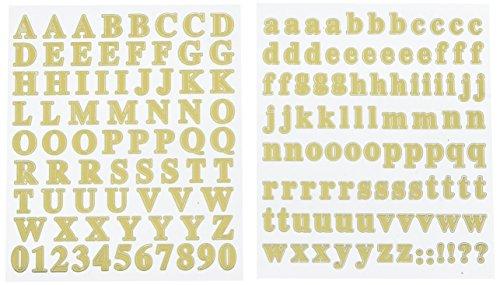 Gold Foil Letters - 3