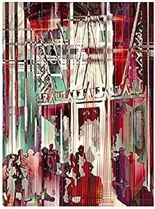 Iplex Design Lienzo Vita Mondana Rojo: Amazon.es: Hogar