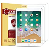 [3 Pack] iPad 9.7 6th Generation Screen Protector - OMOTON Tempered Glass Screen Protector for Apple iPad 9.7