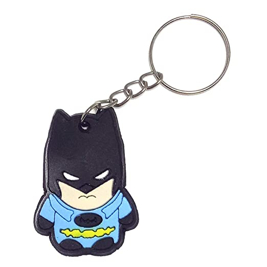 Amazon.com: Keychain for men - Anime Silicone Bag Charm Key ...