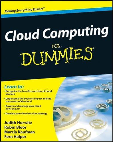 Cloud computing for dummies 1 judith hurwitz robin bloor marcia cloud computing for dummies 1 judith hurwitz robin bloor marcia kaufman fern halper ebook amazon fandeluxe Image collections
