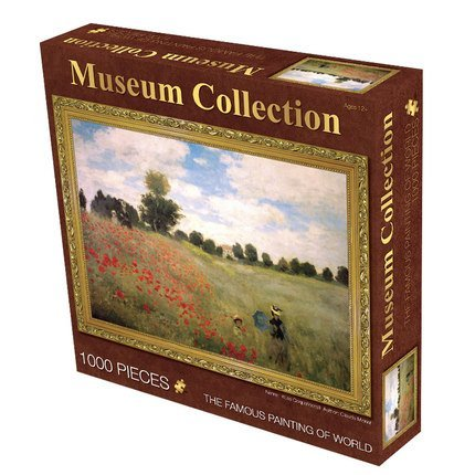 "Museum Collection 1000-Piece Claude Monet ""Poppies"" Jigsaw Puzzle 63152-11"