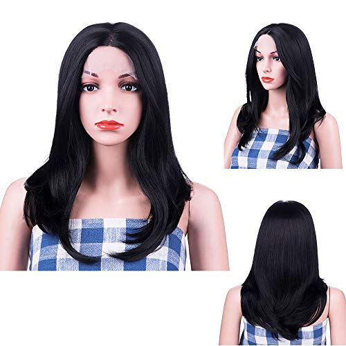 Jessica Jones Cosplay - MelodySusie Long Black Lace Front Wigs