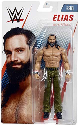Ringside Elias - WWE Series 98 Mattel Toy Wrestling Action - 98 Series