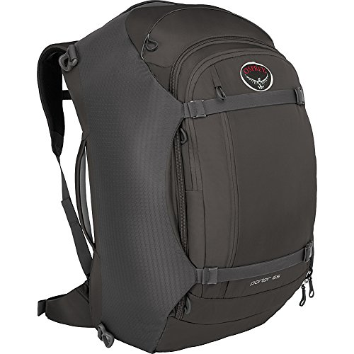 Osprey Porter 65 Travel Backpack (Black- DISCONTINUED)