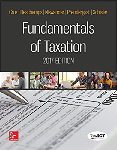 Fundamentals of taxation 2017 edition ana m cruz dr michael fundamentals of taxation 2017 edition 10th edition fandeluxe Image collections