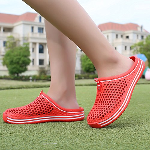 Slip Dry Slippers Shower Shoes Water Garden Non Sintiz Sandal Comfort Womens Red Clogs Shoes Walking Beach Quick EqSPU