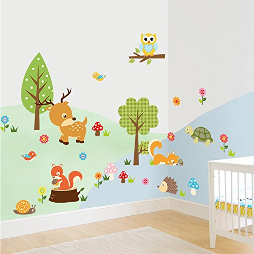 dooxoo-forest-animals-wall-decal-children-wall-art-decal-tree-tops-woodland-critters-nursery-baby-pl