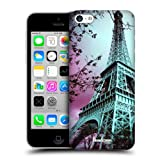 Head Case Designs Eiffel Tower Paris France Best of Places Protective Snap-on Hard Back Case Cover for Apple iPhone 5c
