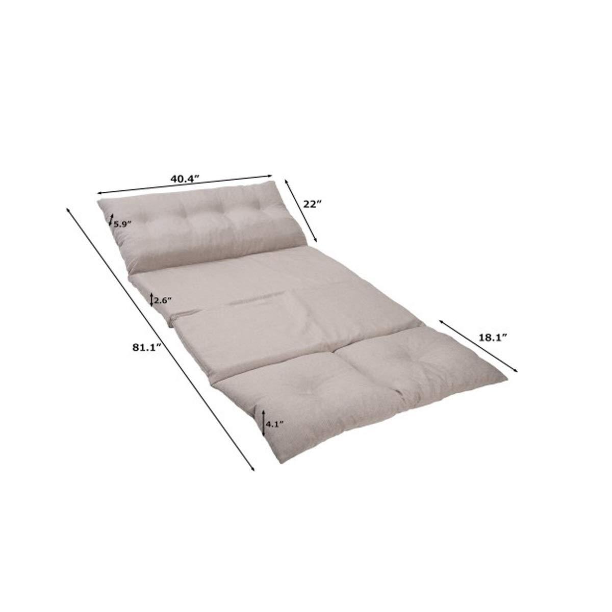 Super Amazon Com Zhic Sofa Adjustable Fabric Folding Chaise Creativecarmelina Interior Chair Design Creativecarmelinacom