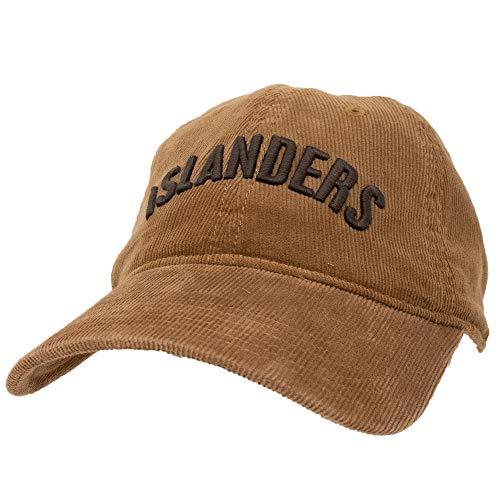 Islanders Relaxed Corduroy Adjustable Hat, Saddle, One Size (Islander Antique Brass)