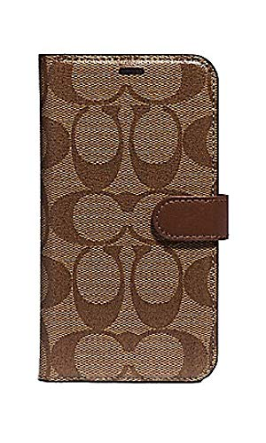 Coach Signature iPhone X/XS Case Coated Canvas F66736