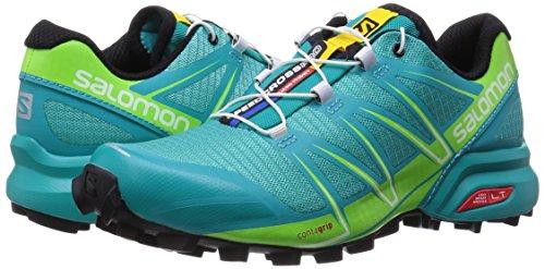 Vert De Multicolore Femme Salomon Trail Speedcross Turquoise Pour Chaussures Pro F bleu Blanc Grand Course qCwdT87