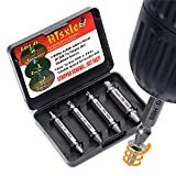 Damaged Screw Remover Set - Extractor Set by Aisxle - Easily Remove Stripped or Damaged Screws - Set of 4 Stripped Screw Removers