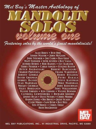 Mel Bay Classical Mandolin - Mel Bay Master Anthology of Mandolin Solos, Vol. 1