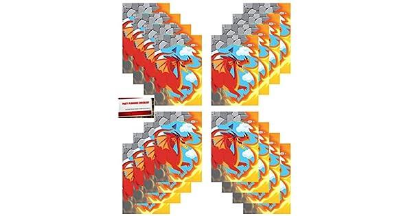 Amazon.com: Paquete de 16 bolsas de plástico con diseño de ...