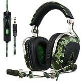 SADES SA926T Xbox One Headset Surround Sound Over-Ear Headphones,...