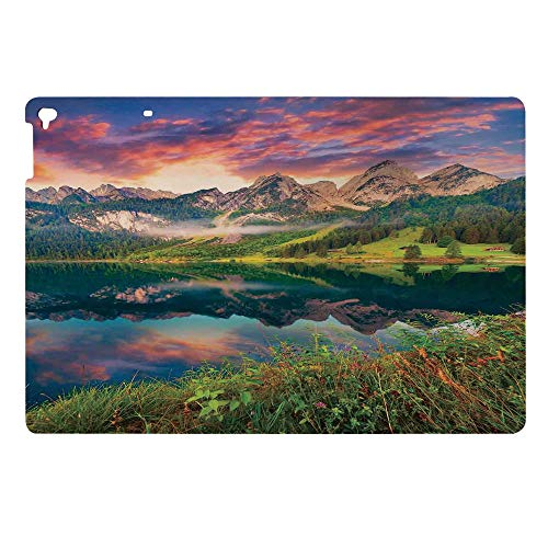 Auto Sleep Awake Smart Case Cover for Apple New iPad 9.7 2017 2018 5th 6th Generation,Vorderer Gosausee Lake in The Austrian Alp Mountain