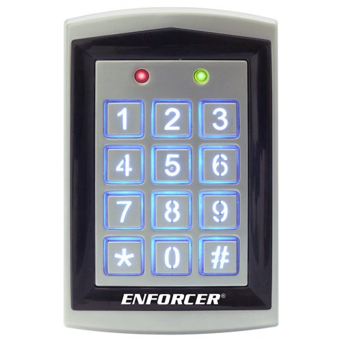 SK-1323-SPQ Seco-Larm Sealed Housing Weatherproof Digital Access Keypad w/ Built-In Proximity Reader by Seco-Larm