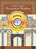 Owen Jones Decorative Borders CD-ROM and Book (Dover Electronic Clip Art)