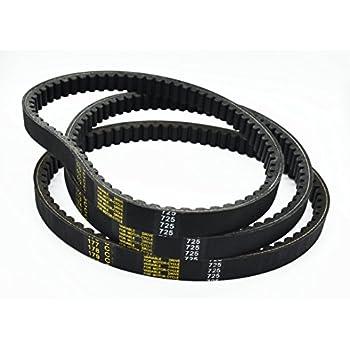 NEW Go Kart Drive Belt 725 Fit for 30 Series torque converter 3 belts 3pc SET