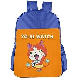 Yo-ki Watch RoyalBlue Navyschool Backpack Daypack For Kid