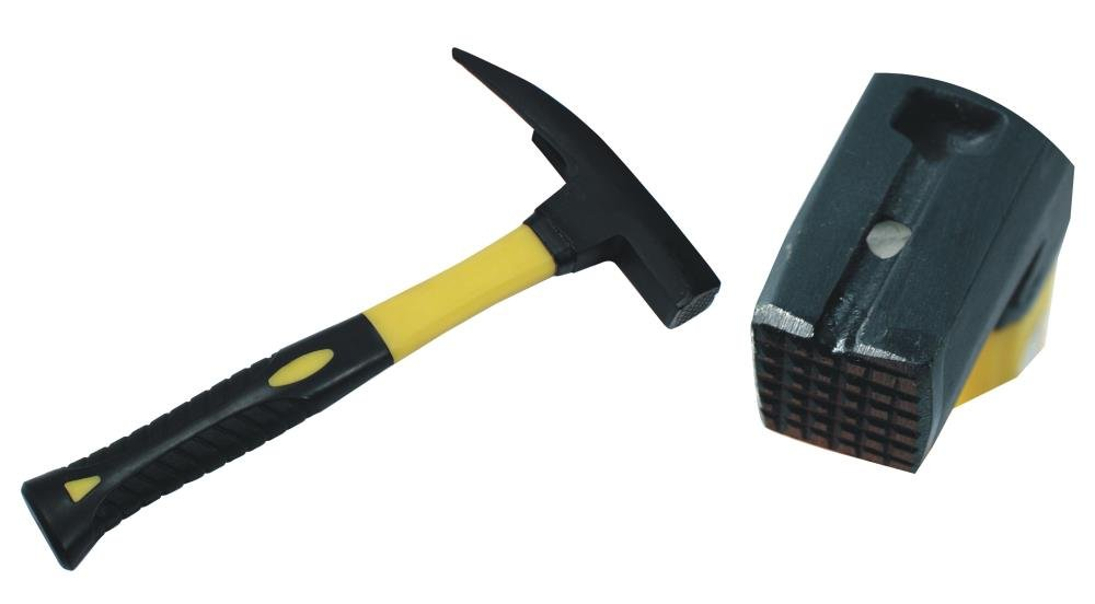 Latthammer Lattenhammer Mit Magnetischem Nagelhalter Magnet Hammerkopf Schwarz Lackiert Glasfaserstiel 600 g Geraut Rü ckstoß arm Dachdecker Profi Zimmermann Maurer DWT-Germany
