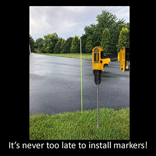 """Keyfit Tools 12"""" Standard MarkerBit Driveway Marker"""