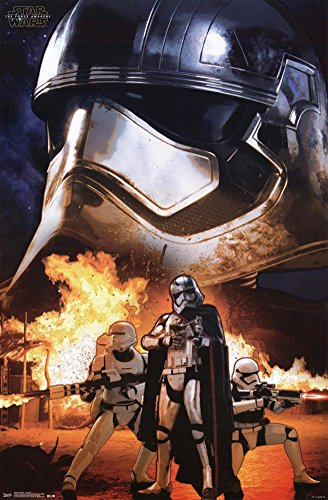 Trends International Star Wars The Force Awakens Storm Troopers Wall Poster 22.375