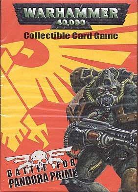 (Warhammer 40,000 Battle for Pandora Prime CCG - Chaos Starter Deck)