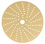 Sunmight 58608 1 Pack 6'' Multi Hole Velcro Disc (Gold Grit 120)