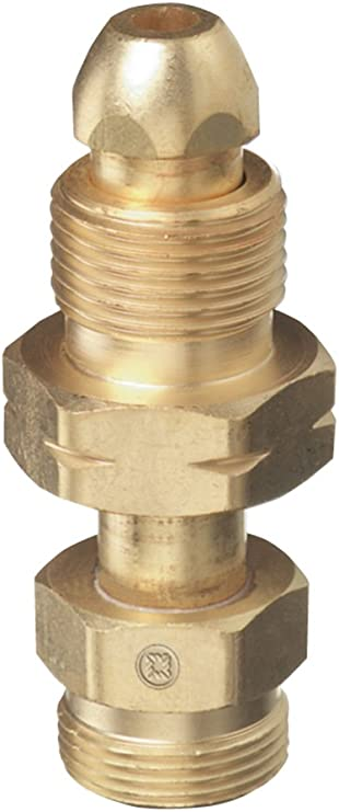 Thoroughbred TB-304 CGA-300 Valve to CGA-200 Acetylene Regulator Adapter