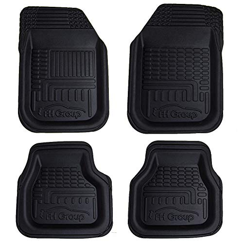 FH Group F11800 TPO Plastic All-Weather Durable Waterproof 3D Semi-Universal Trimmable Floor Mats