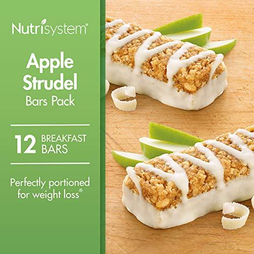 (Nutrisystem® Apple Strudel Bars Pack, 12 Count Bars)