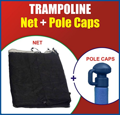 Super-Net-Pole-Cap-Set-Fits-For-Round-Trampoline-Frames-Using-Straight-Poles