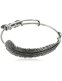 Alex and Ani Spiritual Armor Plume Bangle Bracelet