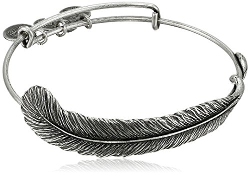 "Alex and Ani Earth Sultry ""Plume Feather"" Bangle Bracelet, 7.75"" from Alex and Ani"