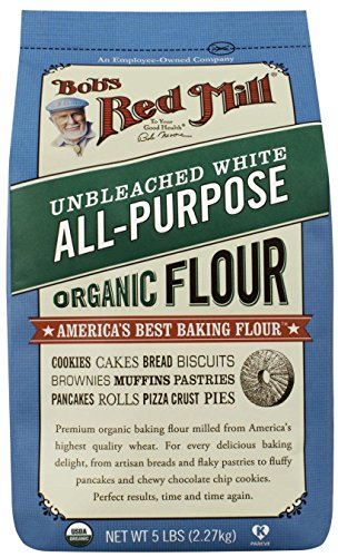 Bobs Red Mill Flour (Bob's Red Mill Organic Unbleached White Flour, 48)