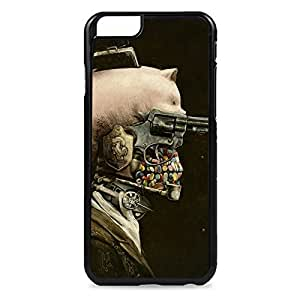 Case Fun Case Fun Skull and Guns Snap-on Hard Back Case Cover for Apple iPhone 6 4.7 inch