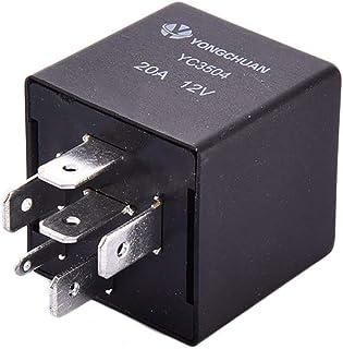 WOVELOT Impermeabile Integrato 12v 40A 4 Pin rele Automatico e Supporto rele